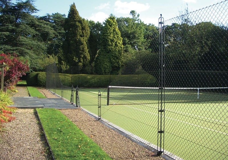 Tennis court fencing cotswold courts